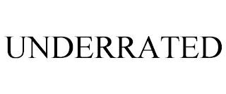 UNDERRATED trademark