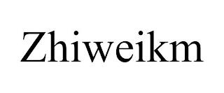 ZHIWEIKM trademark