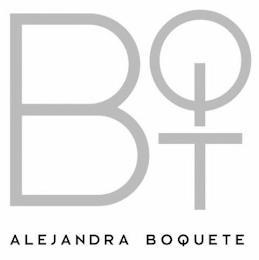 BQT ALEJANDRA BOQUETE trademark