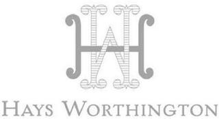 HW HAYS WORTHINGTON trademark