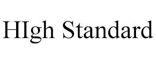 HIGH STANDARD trademark