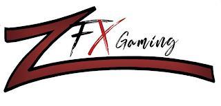ZFX GAMING trademark