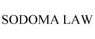 SODOMA LAW trademark