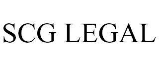 SCG LEGAL trademark