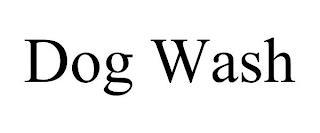 DOG WASH trademark