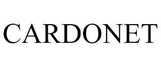 CARDONET trademark