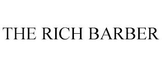 THE RICH BARBER trademark