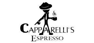 CAPPARELLI'S ESPRESSO trademark