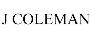 J COLEMAN trademark