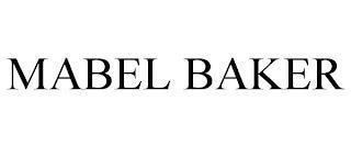 MABEL BAKER trademark