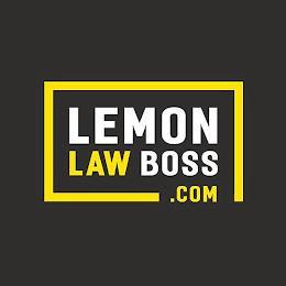 LEMON LAW BOSS.COM trademark