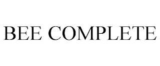 BEE COMPLETE trademark