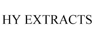 HY EXTRACTS trademark