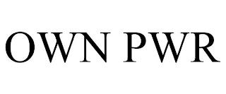 OWN PWR trademark
