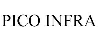 PICO INFRA trademark