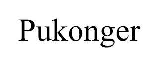 PUKONGER trademark