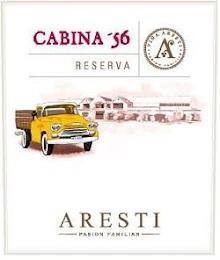 CABINA '56 RESERVA VIÑA ARESTI PASION FAMILIAR trademark