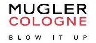 MUGLER COLOGNE BLOW IT UP trademark