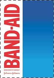 BAND-AID BRAND ADHESIVE BANDAGES JOHNSON & JOHNSON trademark