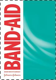 BAND-AID BRAND ADHESIVE BANDAGES JOHNSON & JOHNSON trademark
