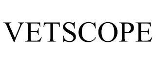 VETSCOPE trademark
