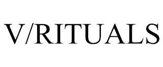 V/RITUALS trademark