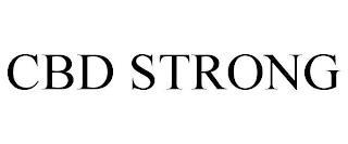 CBD STRONG trademark