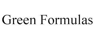 GREEN FORMULAS trademark