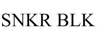 SNKR BLK trademark