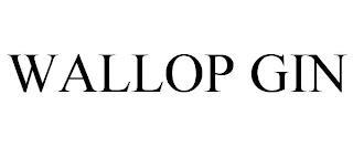WALLOP GIN trademark