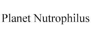 PLANET NUTROPHILUS trademark