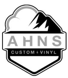 AHNS CUSTOM & VINYL trademark