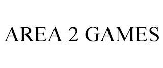 AREA 2 GAMES trademark