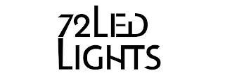 72 LED LIGHTS trademark