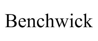 BENCHWICK trademark