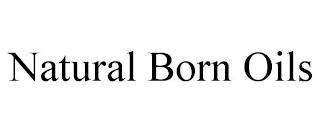 NATURAL BORN OILS trademark