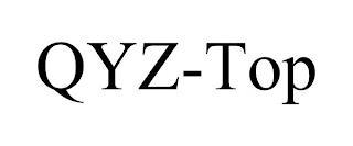 QYZ-TOP trademark