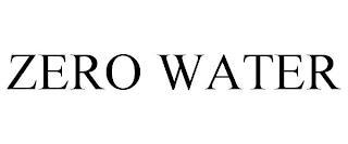 ZERO WATER trademark