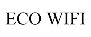 ECO WIFI trademark