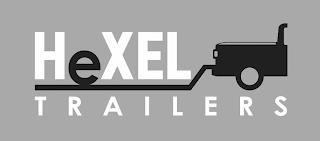 HEXEL TRAILERS trademark
