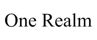 ONE REALM trademark