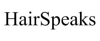 HAIRSPEAKS trademark