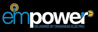 EMPOWER DELIVERED BY CRAIGHEAD ELECTRIC trademark