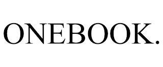 ONEBOOK. trademark