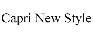 CAPRI NEW STYLE trademark