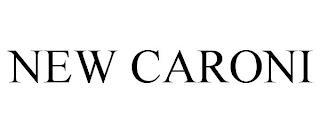 NEW CARONI trademark