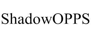 SHADOWOPPS trademark