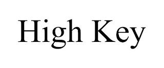HIGH KEY trademark