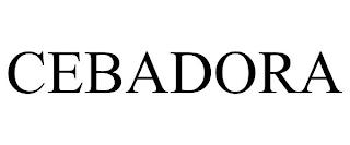 CEBADORA trademark