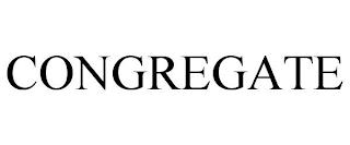 CONGREGATE trademark
